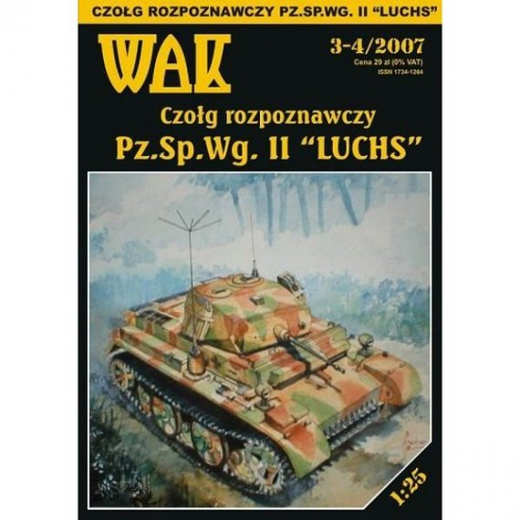 WAK 3-4/07 Niemiecki czołg Pz.Sp.Wg. II Luchs
