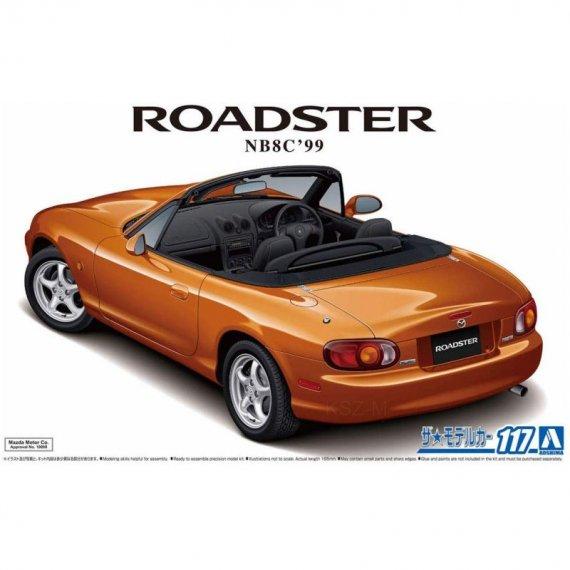 Mazda NB8C Roadster RS '99 - Aoshima 05792