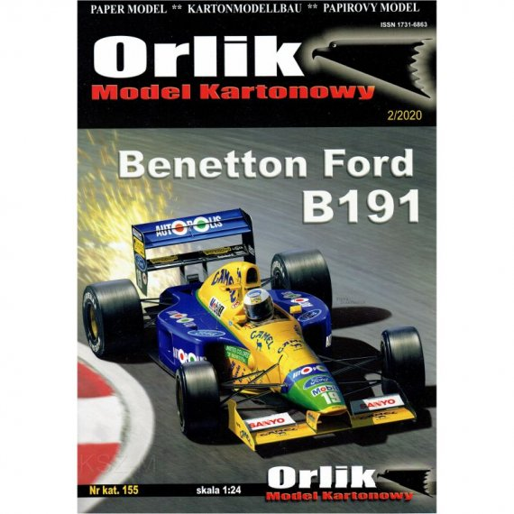 Benetton Ford B191 - Orlik 155