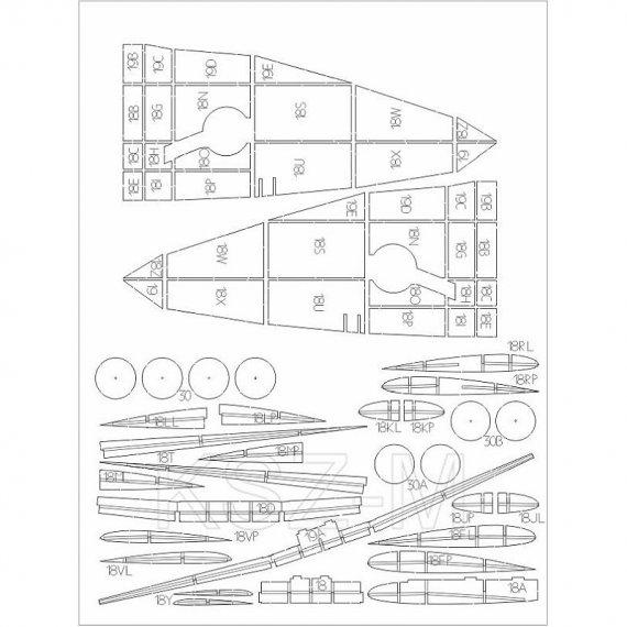 Laser do Spitfire HF Mk.VIII - WAK 3/20