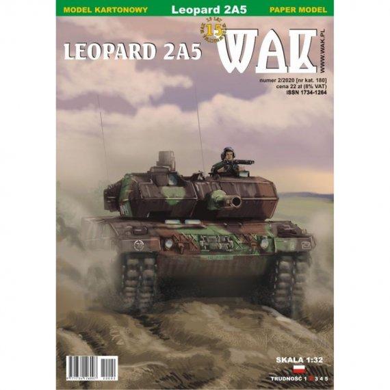Czołg Leopard 2A5 - WAK 2/20