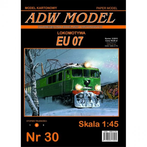 ADW Model 30 - Lokomotywa EU 07 1:45