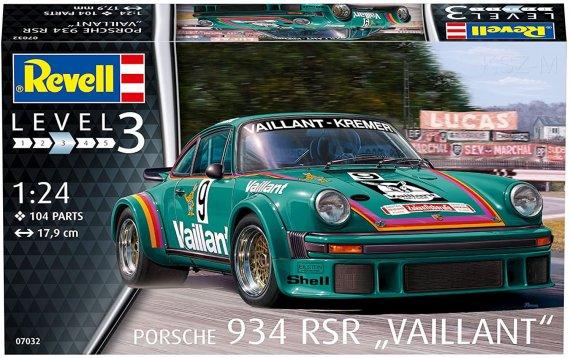 REVELL 07032 - Porsche 934 RSR Vaillant
