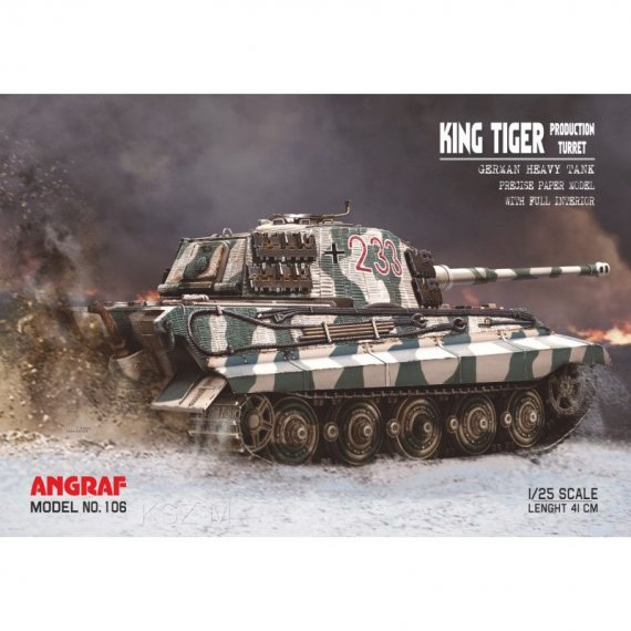 King Tiger Production Turret - Angraf 106