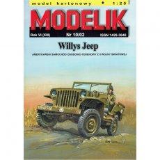 Willys Jeep - Modelik 10/02