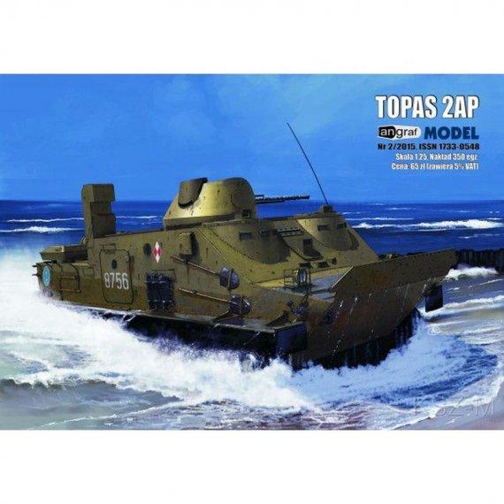 TOPAS 2AP transporter opancerzony - Angraf 1/2017