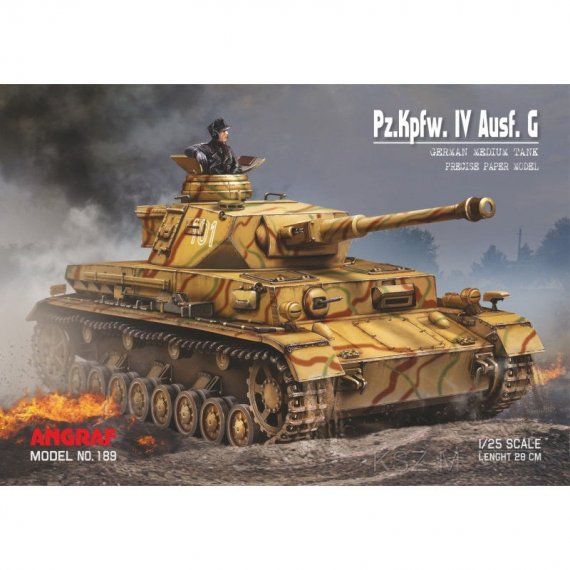 Czołg Pz.Kpfw. IV Ausf. G - Angraf 189