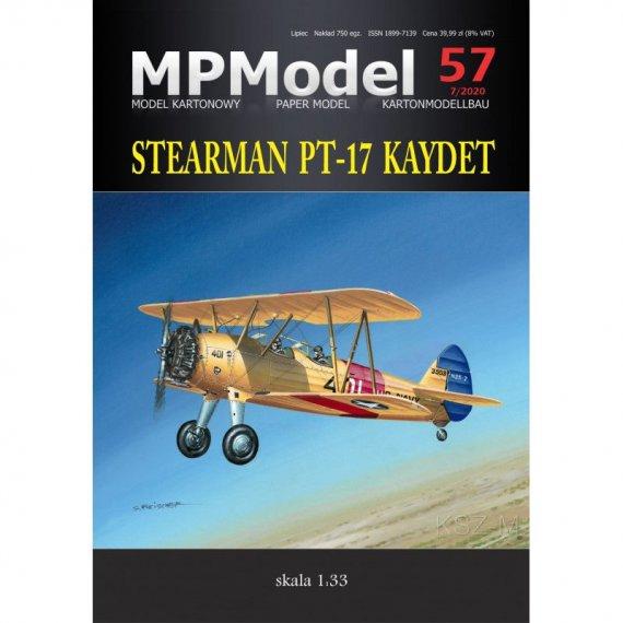 Stearman PT-17 Kaydet - MPModel 57