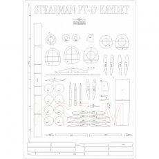 Szkielet do Stearman PT-17 Kaydet z MPModel 57