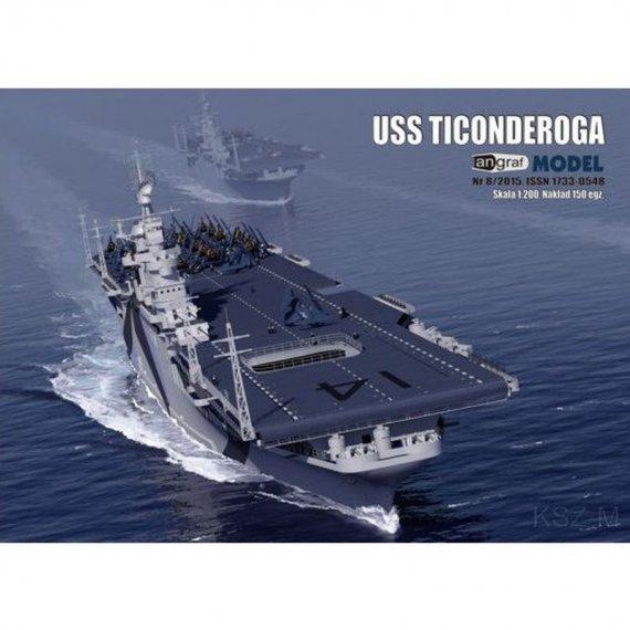 Angraf 2/16 - Lotniskowiec USS TICONDEROGA