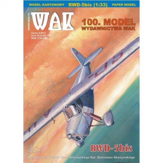 WAK 6/13 - Samolot sportowy RWD-5bis
