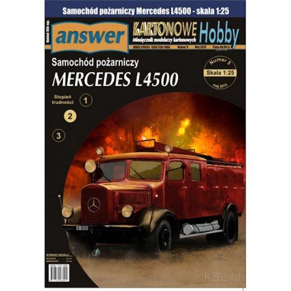 Samochód poż. Mercedes L4500F - Answer 7/15