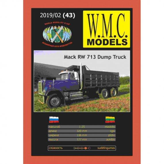 Mack RW 713 Dump Truck - WMC Models 43