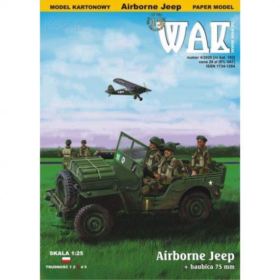 Willys MB Jeep Airborne z haubicą 75 mm - WAK 4/20