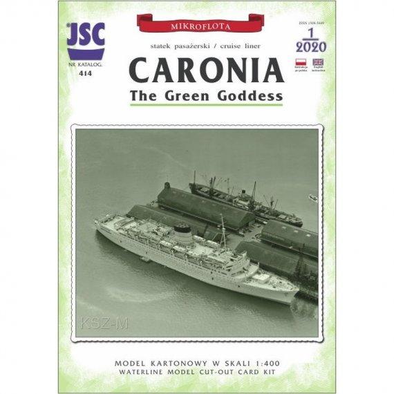 CARONIA - brytyjski statek pasażerski JSC-414