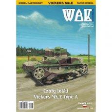 WAK 7-8/17 Czołg lekki Vickers Mk.E Type A