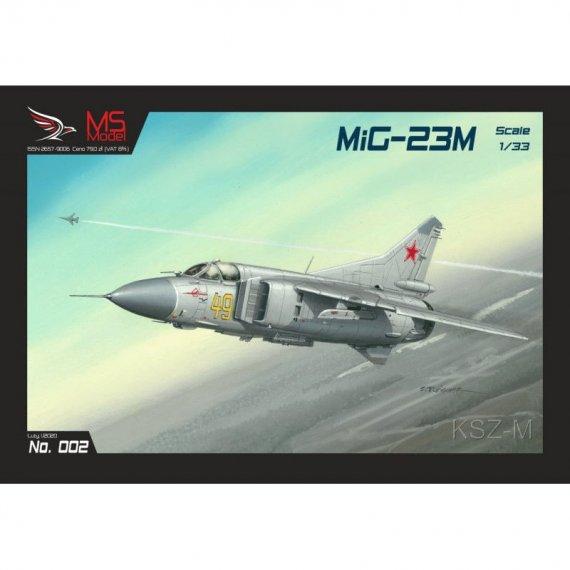 Myśliwiec MiG-23M - MS Model 002