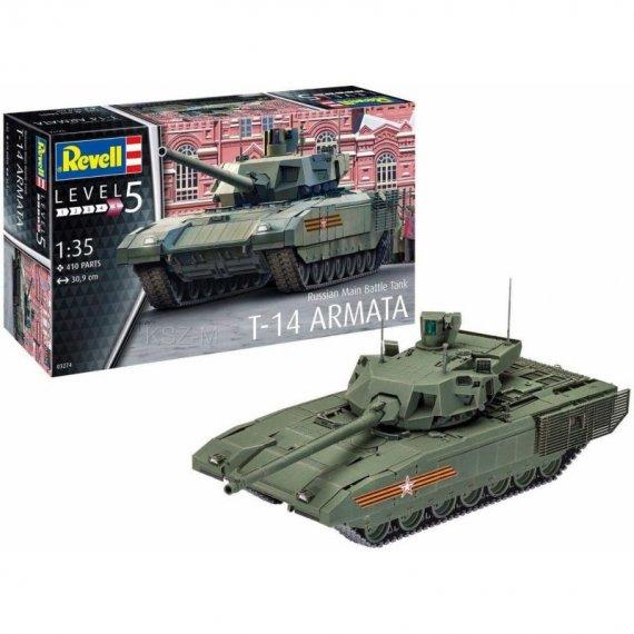 Czołg T-14 ARMATA - REVELL 03274