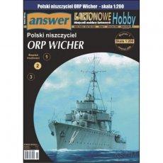 Niszczyciel ORP Wicher - Answer 1/09