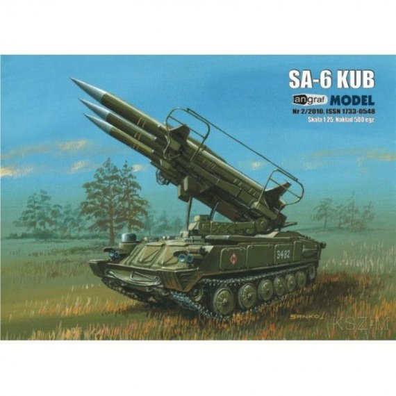 Wyrzutnia rakiet SA-6 KUB - Angraf 2/10