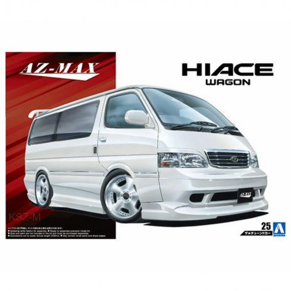 Toyota AZ-MAX KZH100 Hiace '99 - Aoshima 05356