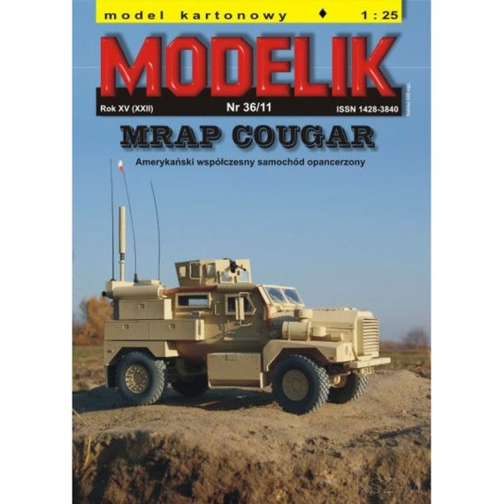 MRAP COUGAR - Modelik 36/11