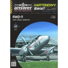 Samolot  RWD-11 - Answer 524