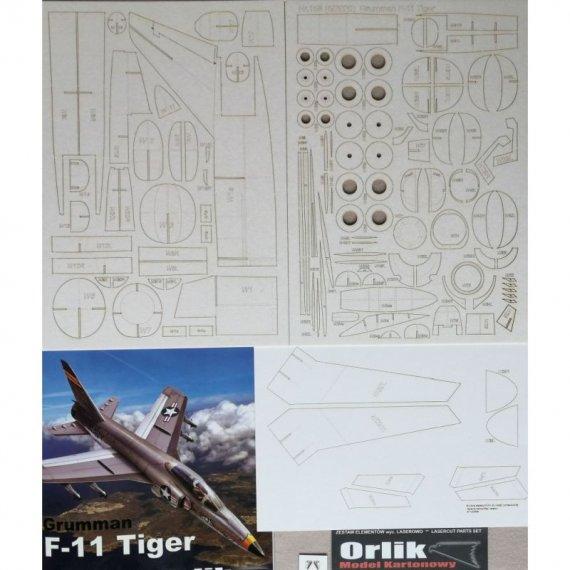 Szkielet detale do Grumman F-11 Tiger - Orlik 158