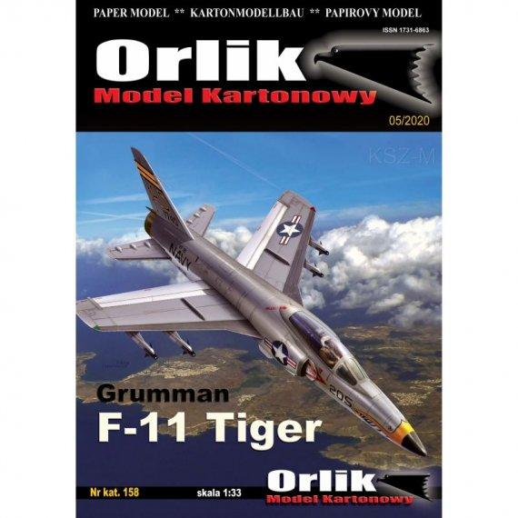 Grumman F-11 Tiger + szkielet + owiewka