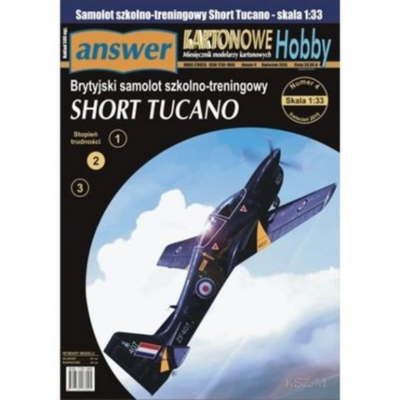 Answer 4/15 - Samolot Short Tucano