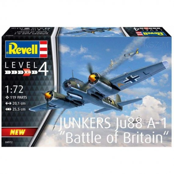 Junkers Ju 88 A-1 Battle of Britain - REVELL 04972