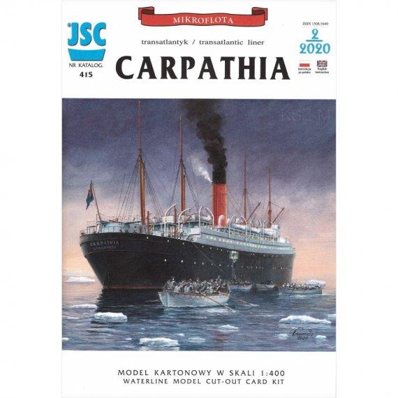 CARPATHIA - brytyjski transatlantyk - JSC-415