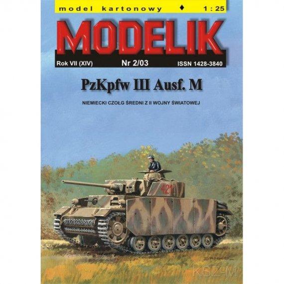 PzKpfw III Ausf. M (Panzer III) - Modelik 2/03