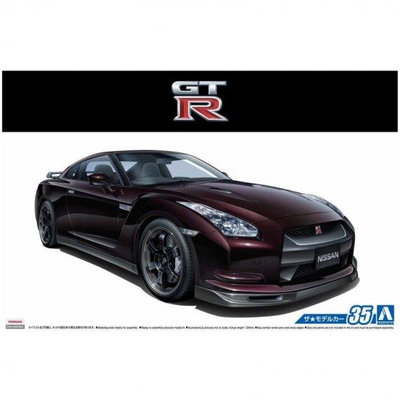 Nissan R35 GT-R Spec-V '09 - Aoshima 05317