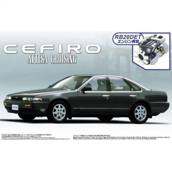 Nissan Cefiro A31 Attesa Cruising '90 - Aoshima 04256