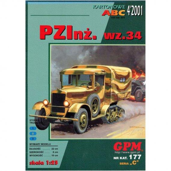 PZInż. Wz.34 samochód półgąsienicowy - GPM 177