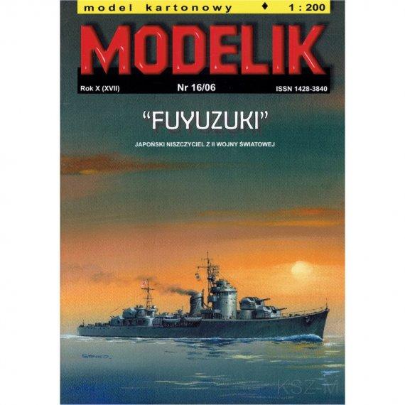 FUYUZUKI - japoński niszczyciel - Modelik 16/06