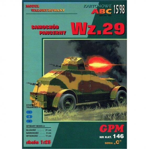 Samochód pancerny Wz. 29 - GPM 146