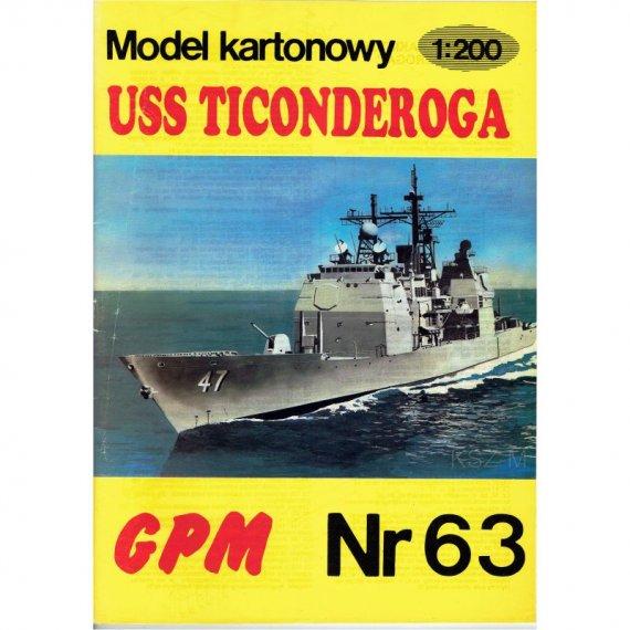 Krążownik USS Ticonderoga - GPM 63