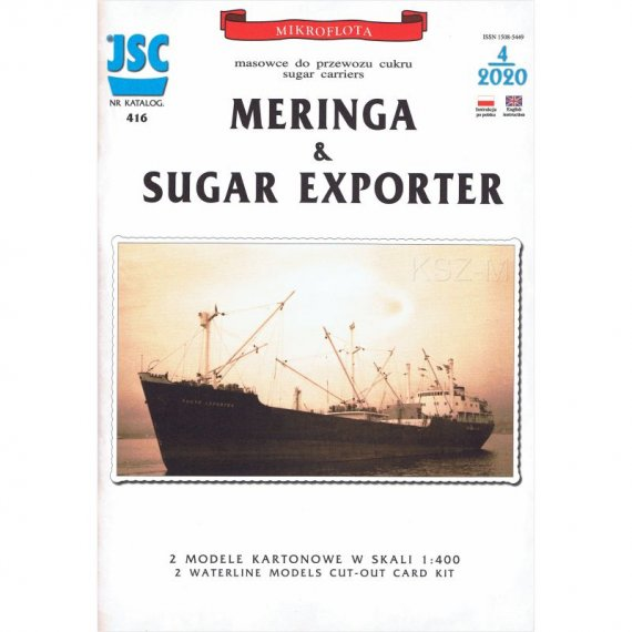Cukrowce MERINGA & SUGAR EXPORTER - JSC 416