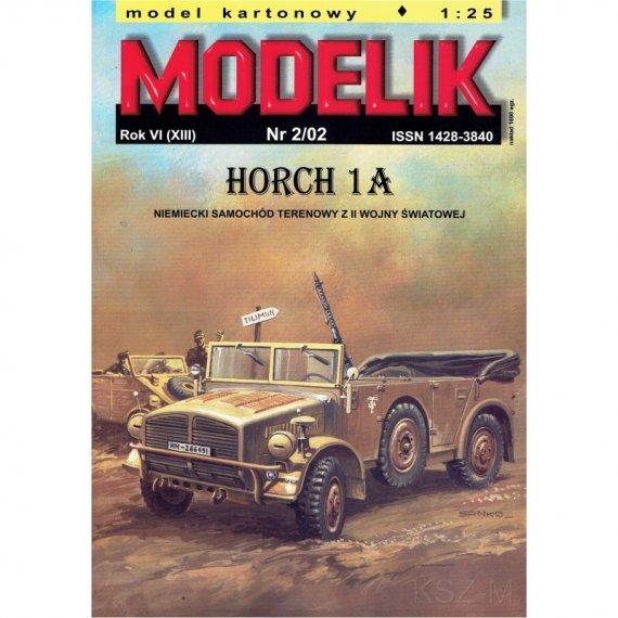 Samochód Horch 1a - Modelik 2/02