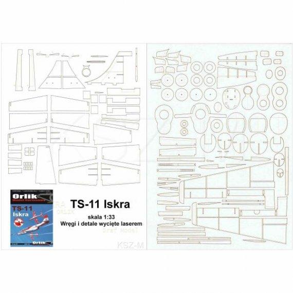 Szkielet, detale do TS-11 Iskra - Orlik 027