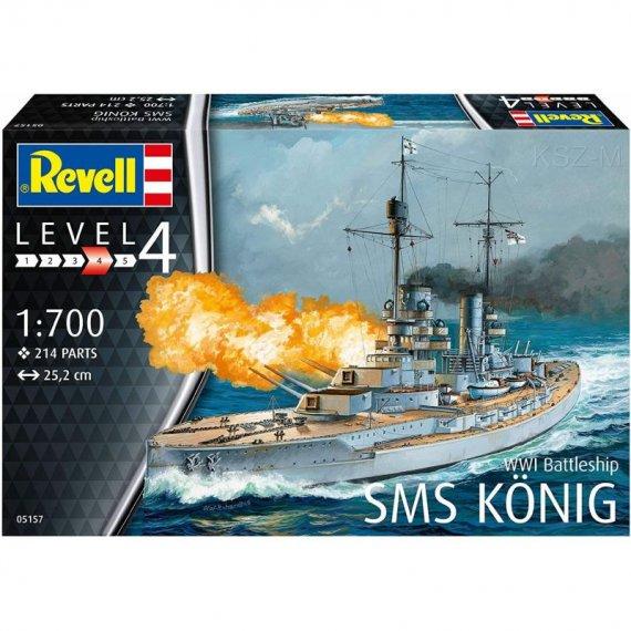 Pancernik SMS KÖNIG - REVELL 05157