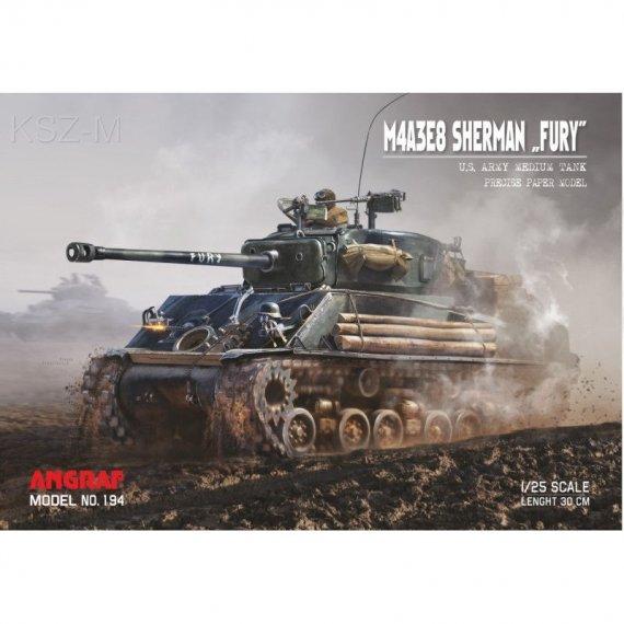 M4A3E8 Sherman FURY - Angraf 194