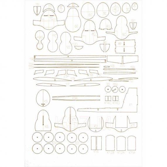 Szkielet, detale do TS-11 Iskra bis DF - WAK 6/20
