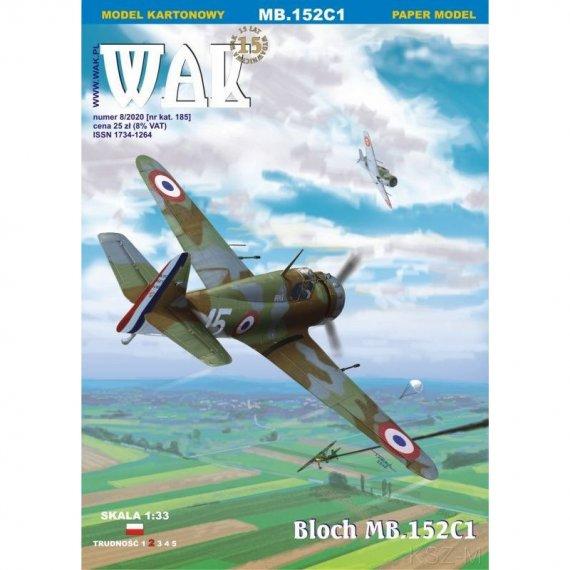 Bloch MB.152C1 - WAK 8/20