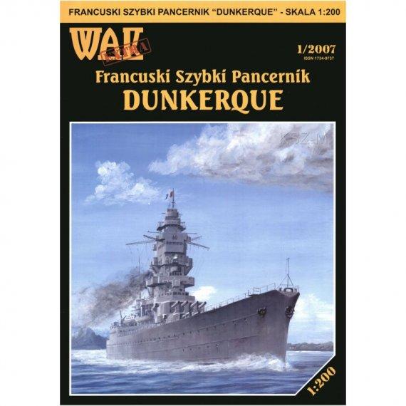 Pancernik Dunkerque - WAK 1/07