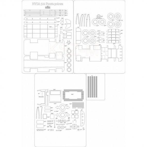 Szkielet detale do NYSA 522 - Answer 526