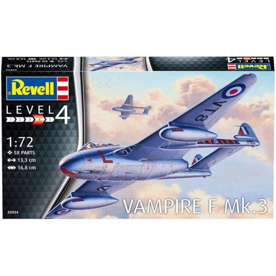 Vampire F Mk.3 - REVELL 03934