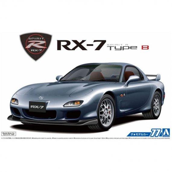 Mazda FD3S RX-7 Spirit R Type B 2002 - Aoshima 05586